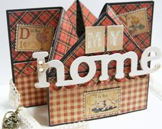 "Look at this amazing 3D creation by @Mieko Sejima called ""My Home"" and using An ABC Primer! Stunning! #graphic45"
