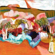 A Fenceless Border 1200 x 1200 Oil on canvas