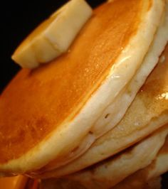 Pancakes. If only I could get them to look like this...