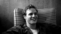Marlon Brando - Iconic Black And White Celebrity Photographs