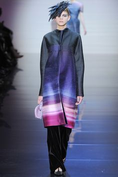 Armani Privé Fall 2012 Couture - Collection - Gallery - Style.com