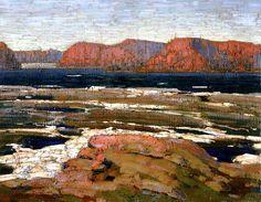 Petawawa Gorges (Early Spring) Tom Thomson - 1914