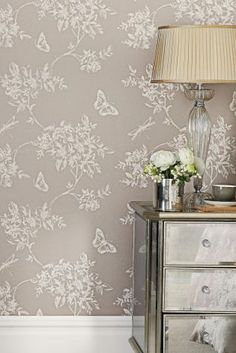 Buy Butterfly Trail Wallpaper from the Next UK online shop