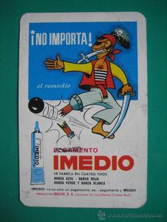 calendario fournier, imedio, de 1971