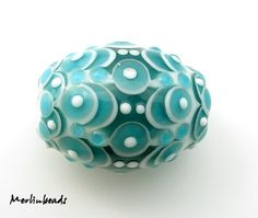 Beautiful lampwork bead #etsy