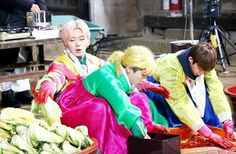 """170201 MONSTA X real-variety show [MONSTA X-RAY]! """"MONSTA X in the making of kimchi!"""""""