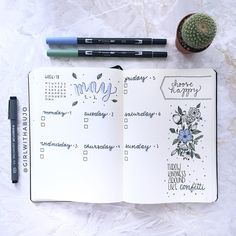 "1,974 Likes, 47 Comments - s a b i n a 🌿 the journal tea (@thejournaltea) on Instagram: ""My weekly spread for next week is already finished. This time I went with way more color and a sea…"""