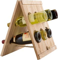 Mixology Wood Crate Wine Rack #ad #wine #storage