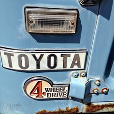 Toyota emblem  What year, model do you think this is?