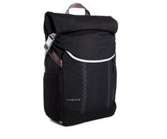 Timbuk2 Lux Waterproof Backpack $199.......PROS: waterproof inside and out, lots of pockets, lightweght, built-in hood and seat cover for rain, CONS: no laptop padding, no hip straps, TOO small