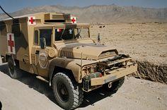 Un véhicule léger de reconnaissance et d'appui (VLRA) Santé. © armée de Terre