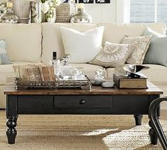 Desert Willow Lane: Coffee Table Makeover {Before & After}