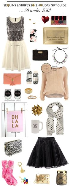 Sequins & Stripes: Gift Guides 2012