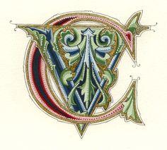 Gemma Black Calligrapher.. She is something else!!