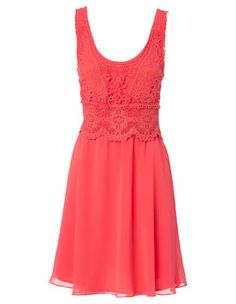 Dress from Myer. #coralbridesmaid #weddingstyle