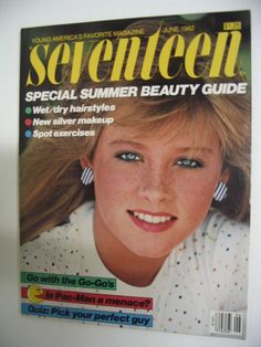 June 1982 cover with sixteen-year-old Pamela Gidley
