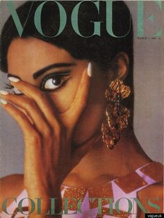 Donyale Lune - 1st black model to cover Vogue UK