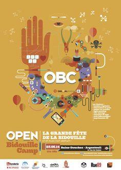 L'association loi 1901 Open Bidouille a été créée suite au succès du premier Open Bidouille Camp (OBC), le 22 septembre 2012 à Mains d'Œuvres (Saint-Ouen) : une fête populaire dédiée à la bidouille ou DIY (Do It Yourself), en mode atelier.