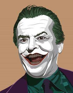 Joker Jack Nicholson on Behance Joker Nicholson, Jack Nicholson, The Man Who Laughs, Cosplay, Michael Keaton, Joker Art, Comic Pictures, The Expendables, Joker And Harley