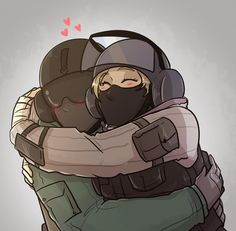 Jager and iq for Rainbow Six Siege Anime, Rainbow Six Siege Memes, Rainbow 6 Seige, Tom Clancy's Rainbow Six, Rainbow Art, Gaming Wallpapers, Cute Wallpapers, Fanart, Girls Frontline