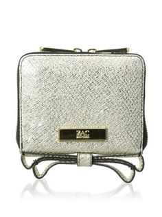 57% OFF Zac Zac Posen Women's Milla Zip-Around Indexer, Gold