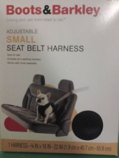 Adjustable Black Small Dog Seat Belt Harness >>> Check out this great product.Note:It is affiliate link to Amazon.