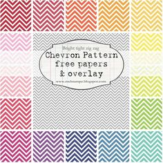 FREE chevron pattern printables.---can't use at school it is considered an ad!!!!!!!!!!!!!!!