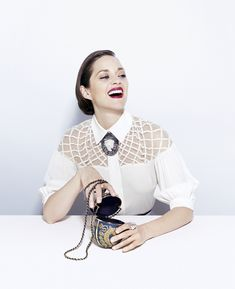 To prepare for his cover sitting with Marion Cotillard for TIME Style's fall issue, ...