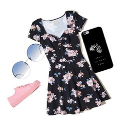 """""""Untitled #17"""" by brunacassettari on Polyvore featuring Hollister Co., Novesta and Linda Farrow"""