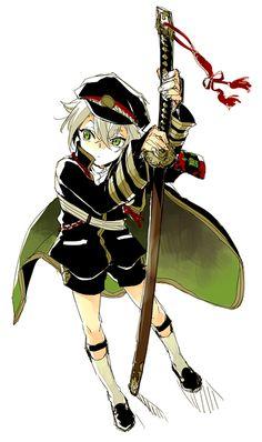 Touken Ranbu, Danganronpa Characters, Anime Characters, Anime Guys, Manga Anime, Sanrio Danshi, Nikkari Aoe, Japanese Games, Owari No Seraph