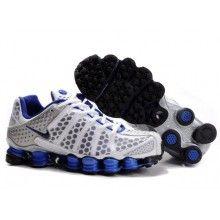 Nike Shox TL 3 White Blue Black