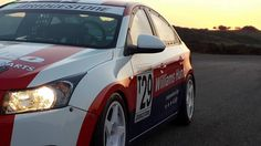 Our Chevrolet Cruze ready for action on the 4th of July down in East London for the 4th round of the Production car series.