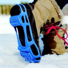 STABILicers Lite Walker ice cleats provide unbeatable grip.
