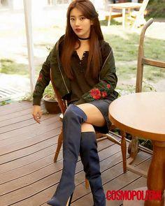 Suzy-Cosmopolitan Korea Magazine 2017 October Issue