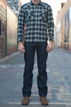 IH X634sX Flannel Lined Water-Resistent Jeans - Self Edge