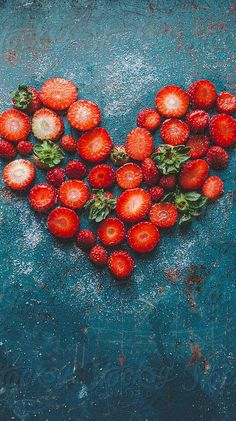 A heart full of love and sweeter than a heart full of strawberries.