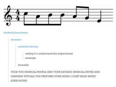 If you can read music this is hilarious