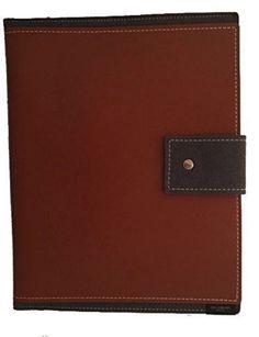 San Lorenzo Eco-Friendly Italian Leather and Wool IPad Case (Brown)