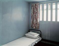 Magnum Photos Photographer Portfolio.   Donovan Wylie NORTHERN IRELAND. The Maze Prison. Prison Cell. H-Block 5, B - Wing 16/25. 2003