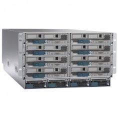 Cisco UCS 5108 Blade Server Cabinet - Rack-mountable - 6U - 8 x Fan(s) Installed. $5,999.00.