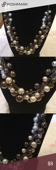 "NWOT Target Beaded Necklace New .. measures 11"" drop Target Jewelry"