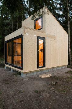 Abri de jardin en bois CUBILIS DESIGN taille 1 et 2 - WEKA | ABRIS ...