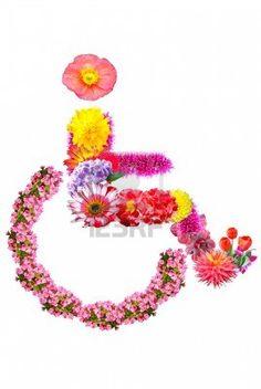 Flower sign Stock Photo
