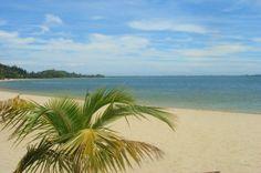 La plage de Pangalanes à Madagascar.