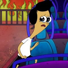 Sanjay was so cute in this one: (don't worry, he's happy most of the time.) http://www.nick.com/videos/clip/sanjay-craig-103-full-episode.html or if you're a fan of Watchcartoonsonline: http://www.watchcartoononline.com/sanjay-and-craig-episode-3-heightmarebe-like-tufflips