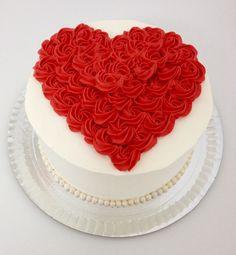 Chocolate and hazelnut cake - HQ Recipes Valentine Desserts, Valentines Day Desserts, Valentine Cake, Pretty Cakes, Cute Cakes, Beautiful Cakes, Amazing Cakes, Desserts Valentinstag, Mothers Day Cake