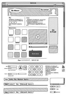 Web Sketch Interface v2 - Graffletopia