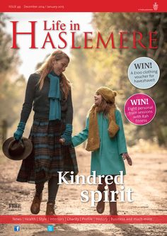 Kindred spirit - Life in Haslemere Dec-Jan 14-15 (Photo by Boo Face Photography) #locallife #winter #family #Hampshire