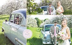 Love the Spring light in these shoots as seen on BRIDE.