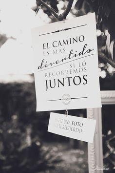 Frases decorativas (y emotivas) para el día de tu boda by #Innovias